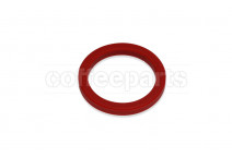 Nuova Simonelli Group head gasket/seal 71x56.5x8.3mm red silicon