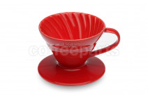 Hario ceramic v60 red 1-cup