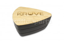 KRUVE Sifter with 2 Sieves - Black