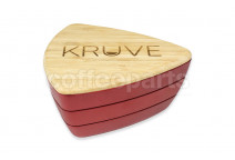KRUVE Sifter with 2 Sieves - Red