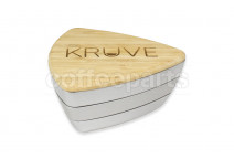 KRUVE Sifter with 2 Sieves - Silver