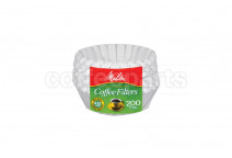 Melitta 8-12 Cup Paper Filters - 200 Pk