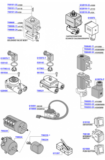 Cimbali - Solenoids and switches
