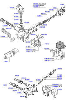 Faema - Water inlet valves 1