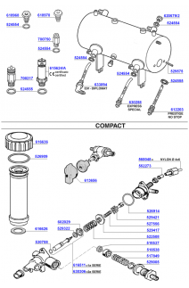Boiler components and water inlets