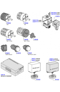 Solenoid, switches and control boards