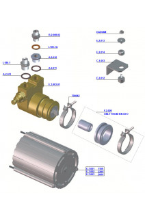 La Marzocco - GS3 Water Pump Assembly
