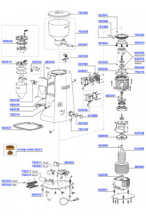 Mazzer - Electronic Robur parts