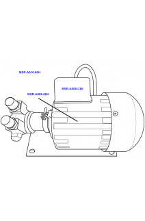 Kees Mirage Pump Motor 220 240Vac 60hz