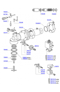 Spaziale - Group head solenoid operated