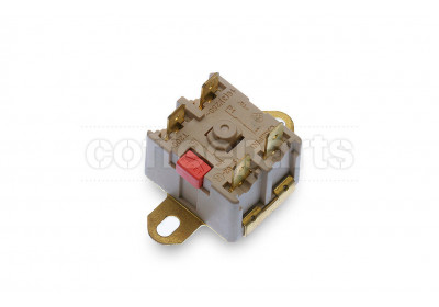 Thermostat with reset