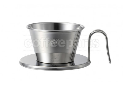 Kalita 155 Tsubame Stainless Wave Filter Coffee Dripper WDS-155