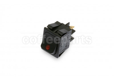2-pole luminous switch