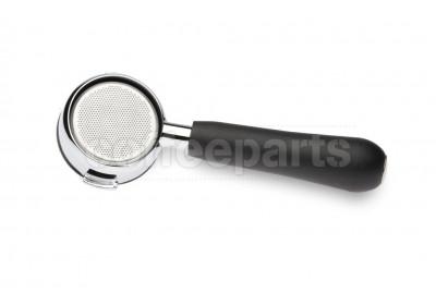 Bottomless portafilter inc triple filter basket to fit Cimbali