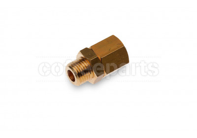 Boiler anti vacuum valve with 1/4 inch bsp thread with teflon internals