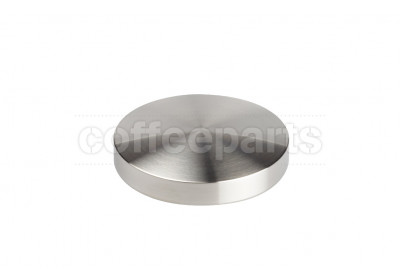 Reg Barber 54mm tamper tamping base only: stainless us-curve