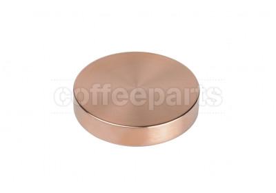 Reg Barber 58mm tamping base only: copper flat