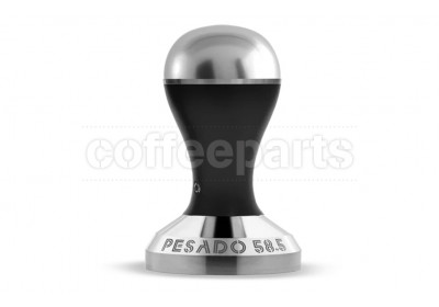 Pesado 58.5mm Modular Coffee Tamper: Black and Silver