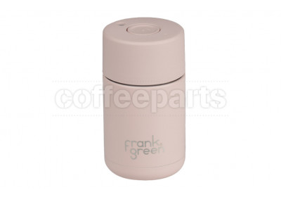 Frank Green Stainless Steel Reusable Cup - 10oz / 295ml : Nude Rose