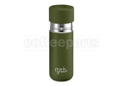 Frank Green Ceramic Reusable Coffee Cup - 16oz / 475ml: Khaki