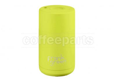 Frank Green Ceramic Reusable Coffee Cup - 10oz / 295ml: Neon Yellow