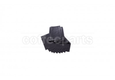 Crema Pro Commercial Floor Standing Knocking Tube Waste Bags