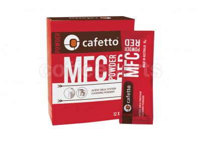 Cafetto MFC Red Powder Coffee Machine Milk Line Cleaner 12 x 10g Sachets