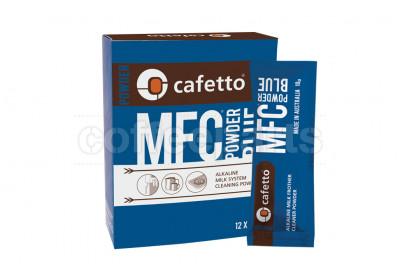 Cafetto MFC Blue Powder Coffee Machine Milk Line Cleaner 12 x 10g Sachets