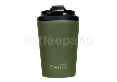 Fressko Camino Reusable Coffee Cup 340ml : Khaki (Green)