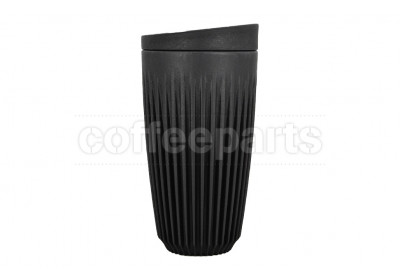 Huskee Charcoal Cup with Lid 16oz (475ml)