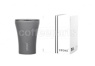 Sttoke 8oz Grey Ceramic Reusable Coffee Cup