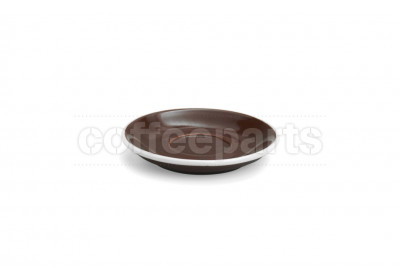 Acme demitasse saucer, 115mm diameter, colour: brown