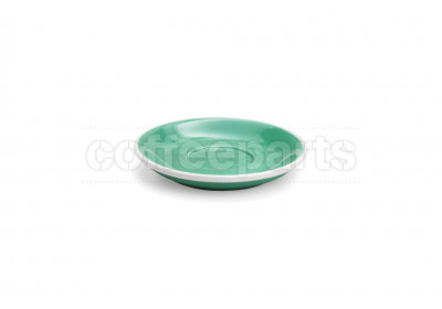 Acme demitasse saucer, 115mm diameter, colour: green
