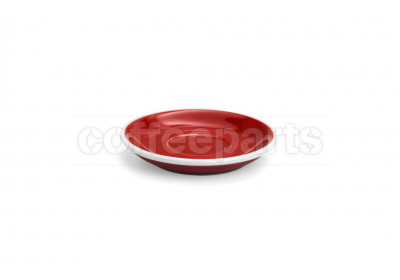 Acme demitasse saucer, 115mm diameter, colour: red