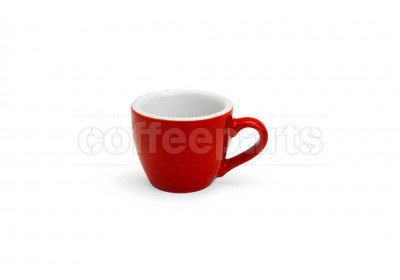 Acme 70ml Demitasse espresso cup, colour: red