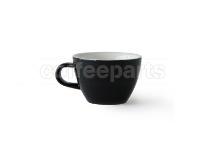 Acme Evolution 150ml Flat White cup, colour: Penguin (Black)