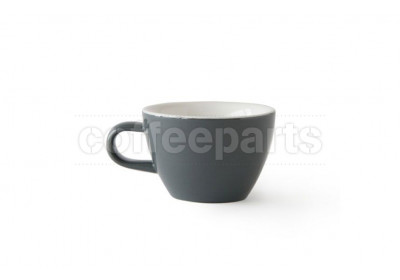 Acme Evolution 150ml Flat White cup, colour: Dolphin (Grey)