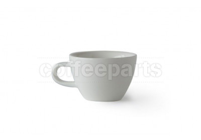 Acme Evolution 150ml Flat White cup, colour: Milk (White)