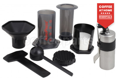 Aeropress Coffee Maker Kit inc Porlex Mini Grinder and 350 Filters
