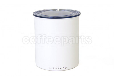 Airscape Large Coffee Storage Vault: Chalk White