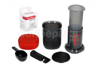 Aeropress GO Travel Coffee Maker - BPA Free With Filter Papers