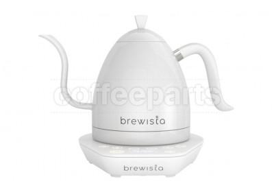 Brewista 1lt Artisan Variable Temp Gooseneck Kettle: White/White