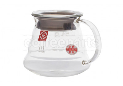 Hario 360ml V60 Clear Range Server