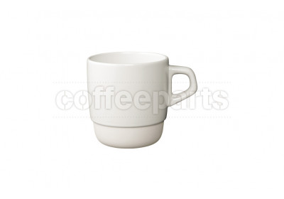 Kinto 320ml White Stacking Coffee Mug