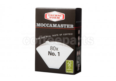 Moccamaster #1 Filters to fit Mocca Master Cup One