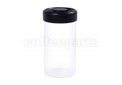 Timemore Large Glass Canister 1200ml: Black