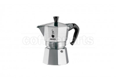 Bialetti 3 Cup Moka Express Stove Top Coffee Maker