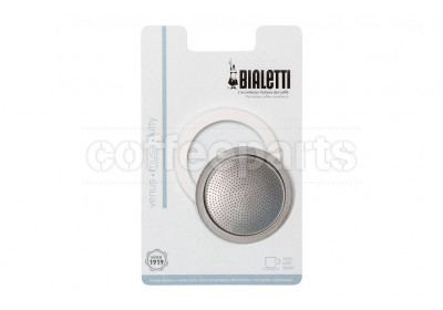 Bialetti 4 Cup Venus/Musa Replacement Seal Kit and Filter Plate
