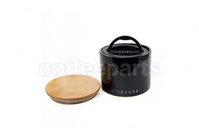 Airscape Small Ceramic Coffee Storage Vault : Black