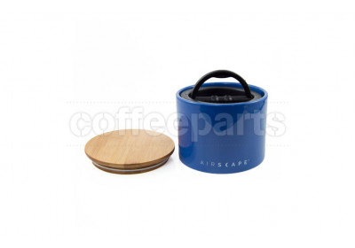 Airscape Small Ceramic Coffee Storage Vault : Blue